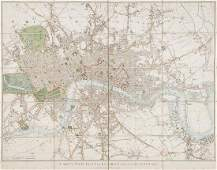 493 Cary George and John Carys New Plan of London a