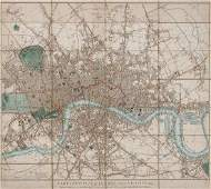 502 Cary George and John Carys New Plan of London a