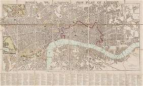 504 Mogg Edward Moggs New Plan of London