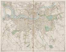 506 Wyld James Wylds New Plan of London for 1844