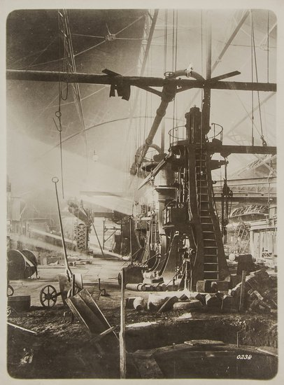 9: Photographer Unknown Industrial Scene, 1930s