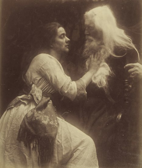 12: Julia Margaret Cameron (1815-1879) Vivien and Merl