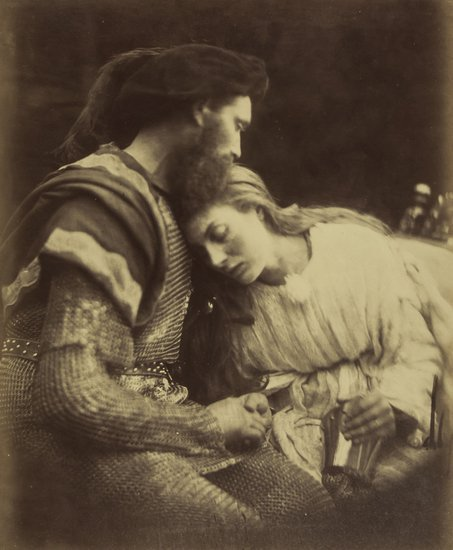 13: Julia Margaret Cameron (1815-1879) The Parting of