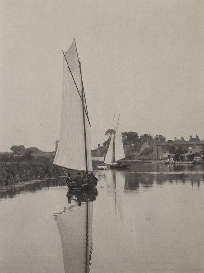 14: Peter Henry Emerson (1856-1936) The Village of Hor
