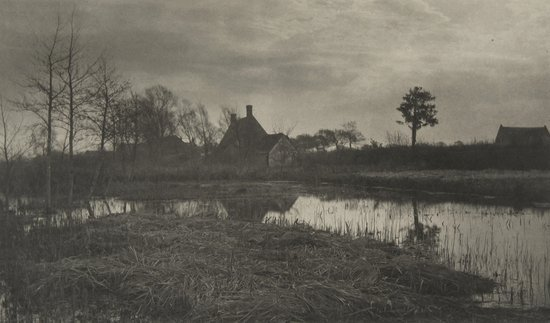 17: Peter Henry Emerson (1856-1936) Evening, Plate XXX