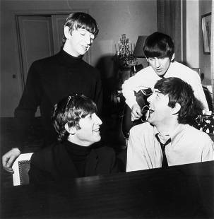 108: Harry Benson (b.1929) The Beatles during Downtime