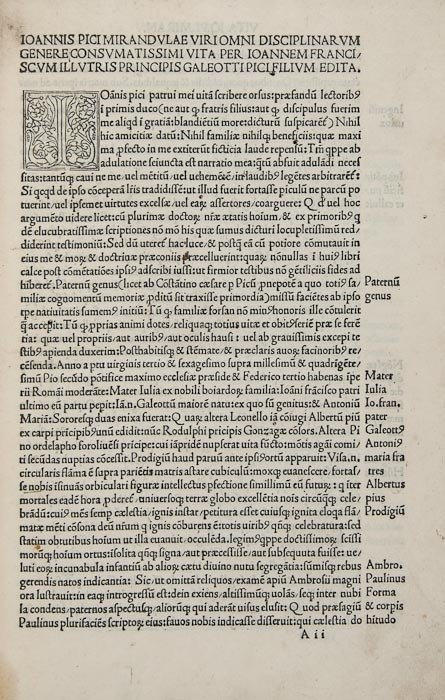 13: Picus de Mirandula (Johannes) Opera