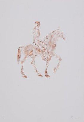 Elisabeth Frink (1930-1993) Horse And Rider