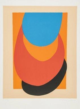 Sir Terry Frost (1915-2003) Straw, Orange, Blue (K