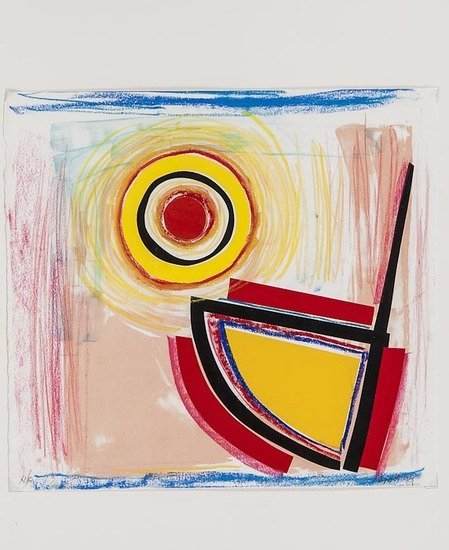 15: Sir Terry Frost (1915-2003) Sun and Boat (k.135)