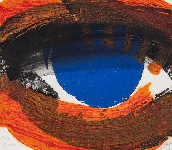 21: Howard Hodgkin (b.1932) Eye (h.102)