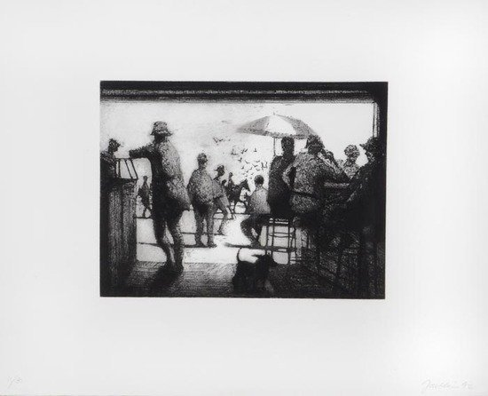 22: Bill Jacklin (b.1943) The Coney Island Suite (10 w
