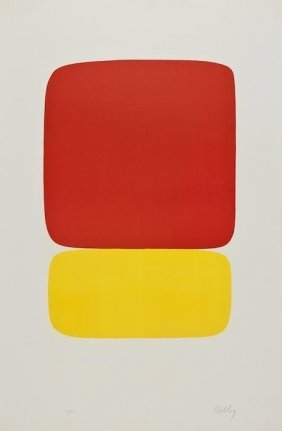323: Ellsworth Kelly (b.1923) Red over Yellow