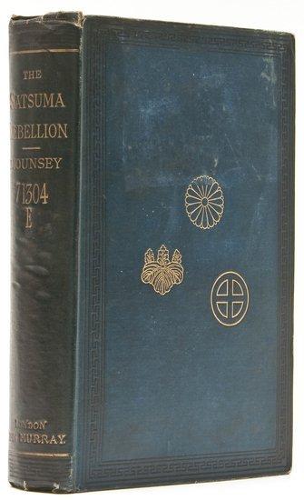 11: -. Mounsey (Augustus H.) The Satsuma Rebellion