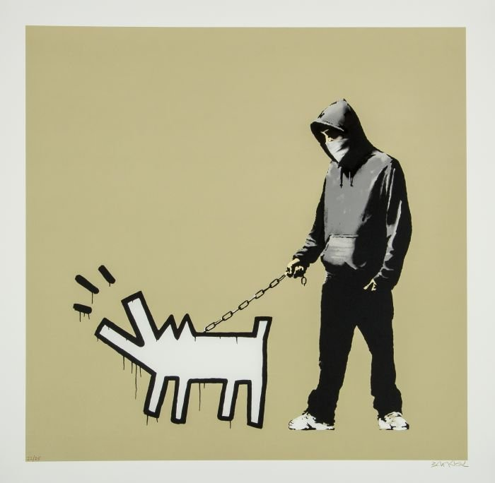 10: silkscreen printed in colours, 2010, signed in bro