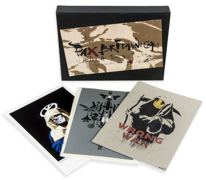 11: Various Artists, including Banksy (British, b.1975