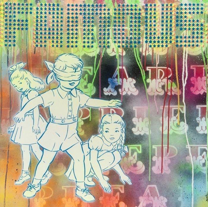 16: Eine (British, b.1970)  Famous Kids Over Happier H