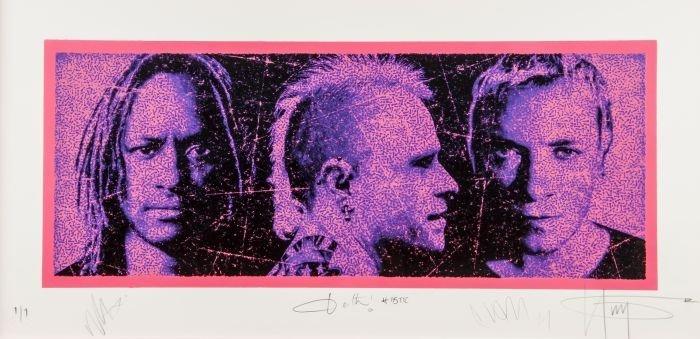 17: K-Guy (British, b.1968)  Anthroprodigy,  silkscree