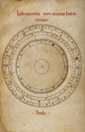 Kalendarium Cum Tabulis Astronomicis; Tabula Regi