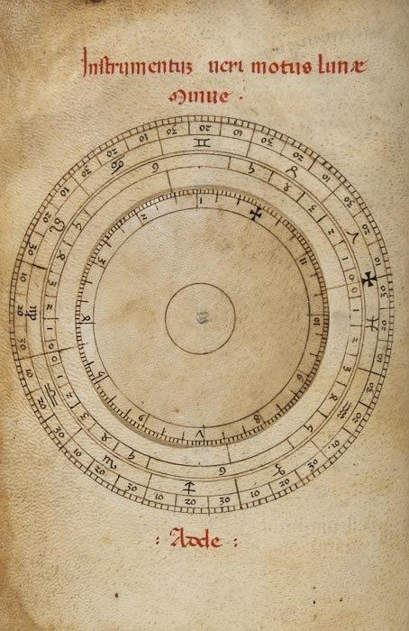 1: Kalendarium cum Tabulis Astronomicis; Tabula Regi