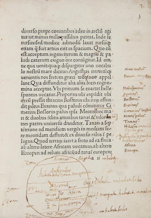 2: Mela (Pomponius) Cosmographia, sive de situ orbis