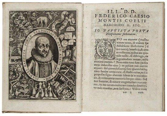 6: Porta (Giovanni Baptista della) De distillatione l