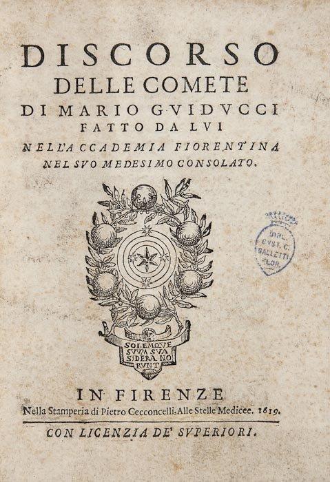 8: [Galilei (Galileo)] and Mario Guiducci. Discorso d