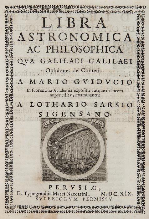 9: [Grassi (Orazio)] Libra astronomica ac philosophic