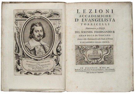 21: Torricelli (Evangelista) Lezioni Accademiche...