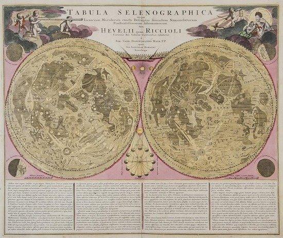 23: Doppelmayer (Johann Gabriel) Tabula Selenographica