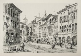 18: Europe.- Prout (Samuel) Sketches in France, Switze