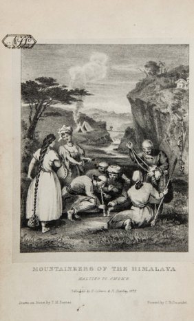 20: (Capt. Thomas) Excursions in India; including a wa