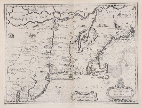 11: Speed (John) A Map of New England and New York