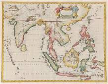 21 Speed John A New Map of East India