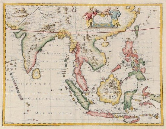 21: Speed (John) A New Map of East India
