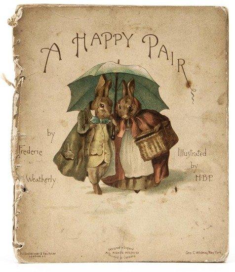 Potter (Beatrix).- Weatherly (Frederic E.) A Happy