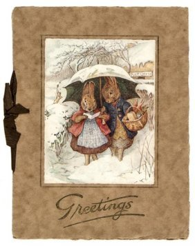 [Potter (Beatrix)] Christmas Greetings Card