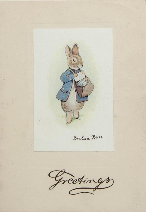 [Potter (Beatrix)] Christmas Card