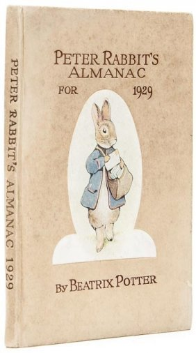 Potter (Beatrix) Peter Rabbit's Almanac For 1929