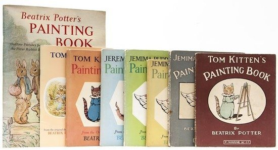 Painting Books.- Potter (Beatrix) Tom Kitten's Pai