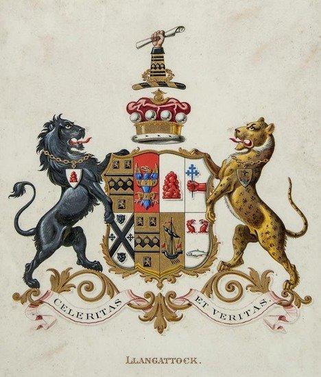 Heraldry Paintings.-