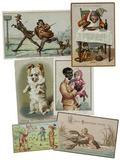 Victorian Christmas Cards.-