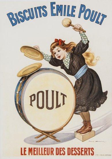 BOUISSET, Firmin BISCUITS EMILE POULT