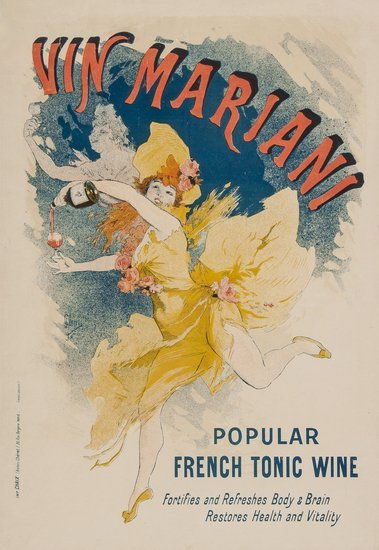 CHERET, Jules (1839-1932) VIN MARIANI