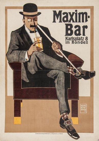 ERDT, Hans RudiI (1883-1918) MAXIM-BAR