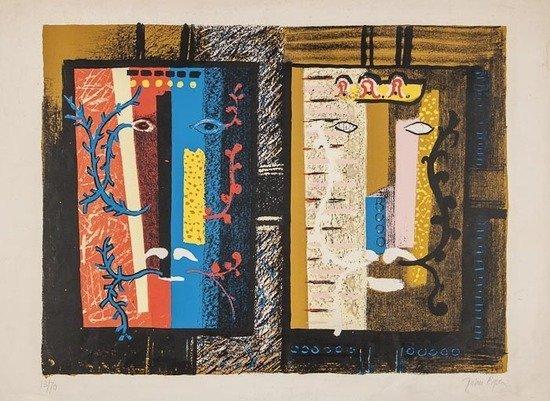John Piper (1903-1992) Foliate Heads I (L.83)
