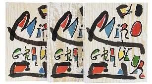 Joan Miro and Jacques Dupin Miro Graveur Vols I-II