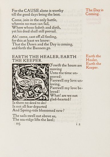 Morris (William) Poems by the Way