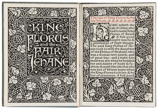 Morris (William) The Tale of King Florus and the F