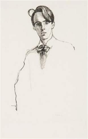 Rothenstein (William) Four lithographed portraits
